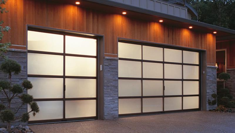Garage door remodeling ideas