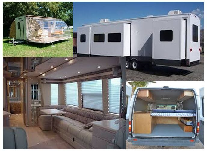 House on wheels remodeling