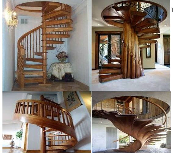 Spitaling staircase